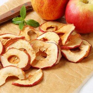 Яблоки сушеные (мягкие кольца без сердцевины и кожуры), 75 г