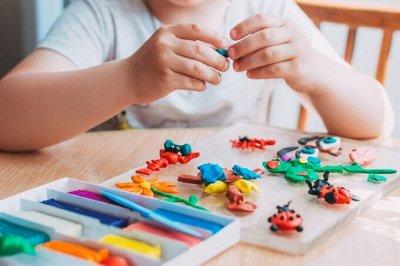 Детские игрушки в наличии! Полное обновление — Наборы для лепки