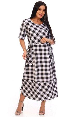 Платье женское, черный