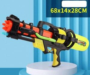 Водяное ружье, цвет черный/ желтый