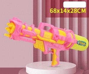 Водяное ружье, цвет желтый/ розовый