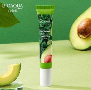 Крем для кожи вокруг глаз Bioaqua Niacinome Avocado Eye cream с экстрактом авокадо 20 g