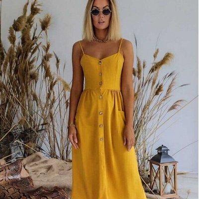 Обновляем гардероб к лету! Летние костюмчики модных цветов — Сарафаны — Летние платья