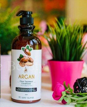 Кондиционер для волос с аргановым маслом May Island Argan Clinic Treatment Conditioner