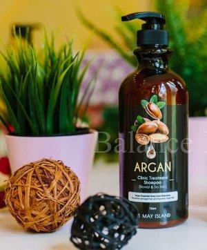 Шампунь для волос с маслом арганы Argan Clinic Treatment Shampoo