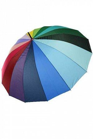 Огромный семейный зонт-трость с чехлом