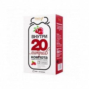 Чайный напиток 200 г Кизиловый компот ТМ Floris