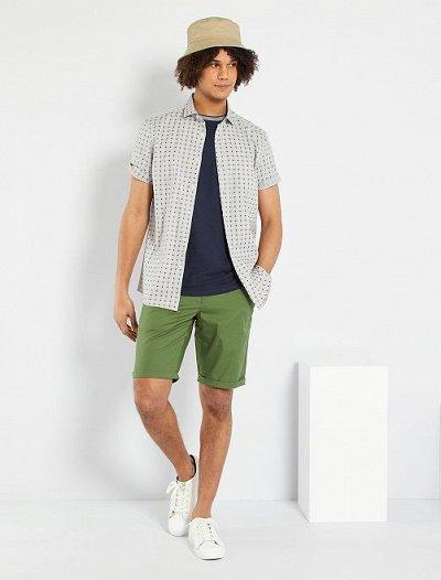 Одежда из Франции для всей семьи — Мужчины. Шорты, бермуды