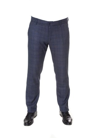 Брюки мужские синие 075