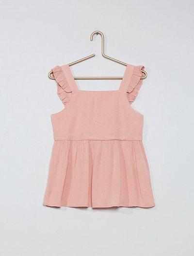 Одежда из Франции для всей семьи — Девочки. Рубашки, блузки