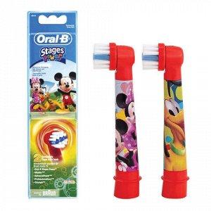 ORAL_B Насадки д/электрических зубных щеток (3+ лет) Stages Power EB10-2K Очень мягкая 2шт