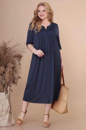 Платье Linia-L Б-1890 темно-синий