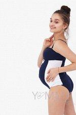Купальник для беременных и кормящих мамочек Венеция синий