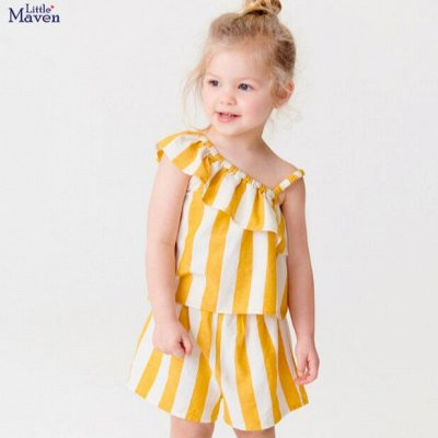✅ LITTLE MAVEN качественная детская одежда. Соскучились? — Костюмы для девочек — Комбинезоны и костюмы