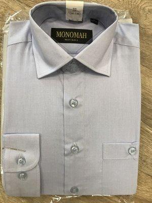 Рубашка 90% хлопок, 10 % ПЭ. Длинный рукав.