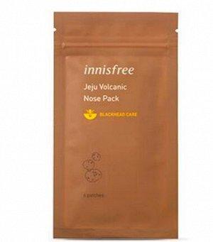Innisfree Jeju Volcanic Nose Pack Патчи для очищения носа 1шт