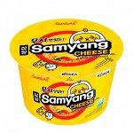 """Лапша б/п """"Samyang"""" со вкусом сыра Cheese big bowl 105г"""