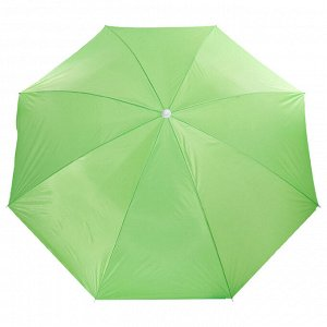 Зонт пляжный «Классика», d=240 cм, h=220 см, МИКС