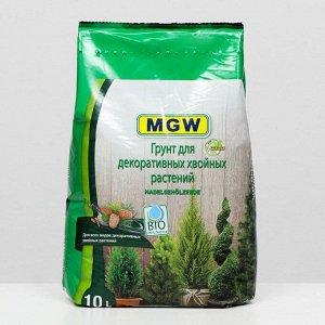 Грунт MGW для хвойных (декоративных) растений, 10 л