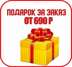 Подарок при заказе от 690 рублей