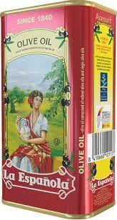 """Масло оливковое рафинированное с добавлением нерафинированного Olive Oil Classic """"La Espanola"""" ж/б 1 л"""