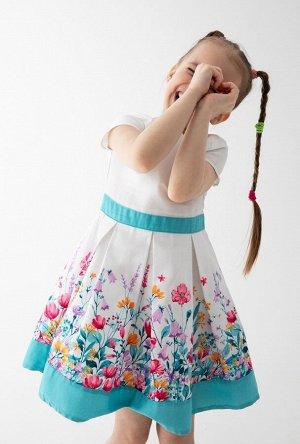Платье детское для девочек Cremino белый