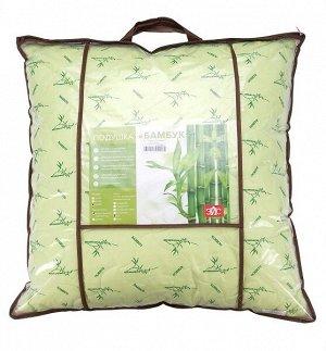 Подушка Бамбук лебяжий пух/тик стежка