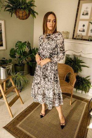 Платье Платье Pur Pur 01-757/6  Состав: Хлопок-100%; Сезон: Весна-Лето Рост: 170  Платье со съемным поясом.