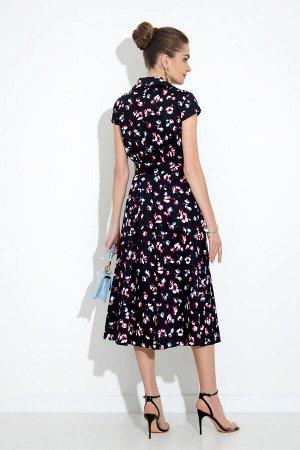 Платье Платье Gizart 7212  Состав: Спандекс-2%; Хлопок-98%; Сезон: Лето Рост: 164  Легкое летнее платье. Женственное платье идеальный вариант как для офиса, так и для особого повода. Стильное и комфо