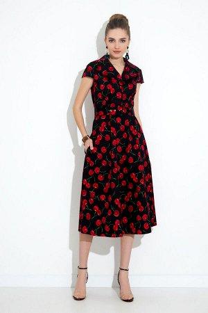 Платье Платье Gizart 7212в  Состав: Спандекс-2%; Хлопок-98%; Сезон: Лето Рост: 164  Легкое летнее платье. Женственное платье идеальный вариант как для офиса, так и для особого повода. Стильное и комф