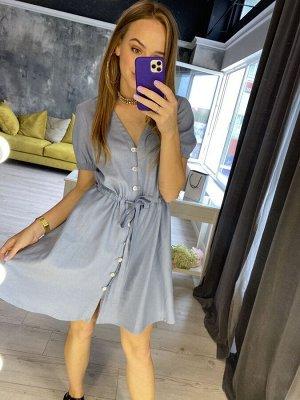 Платье Платье Pur Pur 01-826  Состав: Вискоза-45%; Лён-55%; Сезон: Лето Рост: 170