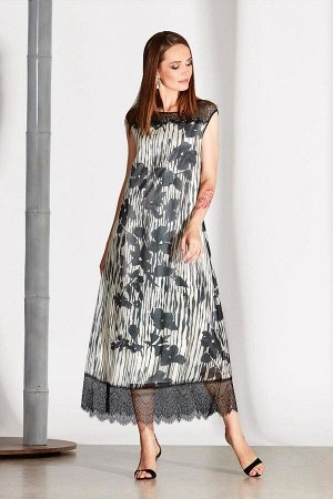 Платье Платье NOCHE MIO 1.133 №2  Состав: Вискоза-100%; Сезон: Лето Рост: 164  Платье из лёгкого вискозного полотна с отделкой из изящного кружева.