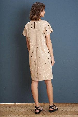 Платье Платье Fantazia Mod 3956  Состав: Спандекс-3%; Хлопок-63%; Нейлон-34%; Сезон: Лето Рост: 164  Минимализм - один из ведущих трендов 2021 года. В прошлое ушли пёстрые принты, многочисленный деко