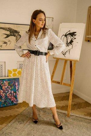 Платье Платье Pur Pur 01-919/4  Сезон: Весна-Лето Рост: 170  Весення коллекция 2021 Pur Pur.Платье + пояс в комплете