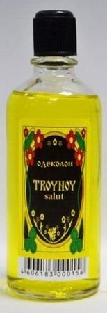 Одеколон  ТРОЙНОЙ 99мл (TROYNOY SALUT FORTUNE)