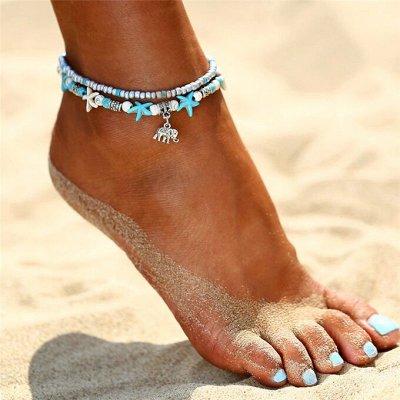 Модные повязки, популярны в этом сезоне — Браслеты на ногу