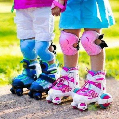 Самые любимые — детские игрушки в наличии! Полное обновление — Роликовые коньки,комплекты защиты — Спортивные игры