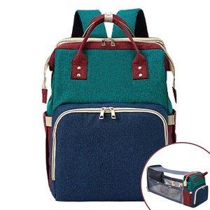 Сумка-рюкзак для мамы (с люлькой). 1821 multi