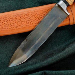 Нож Пчак Шархон - рукоять кость, металл
