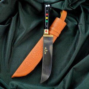 Нож Пчак Шархон - рукоять эбонит, металл