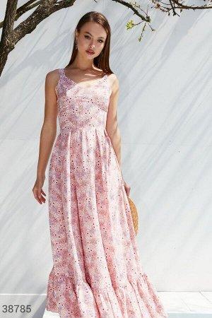 Романтичный розовый сарафан