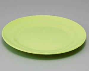 Тарелка Фолио зеленая диаметр 22см
