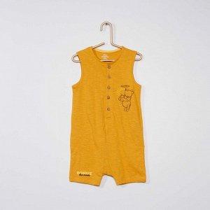 Комбинезон-песочник 'Винни-Пух' от Disney - желтый
