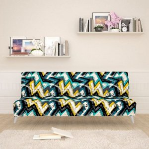 Чехол для дивана б/п Геометрический паттерн 2