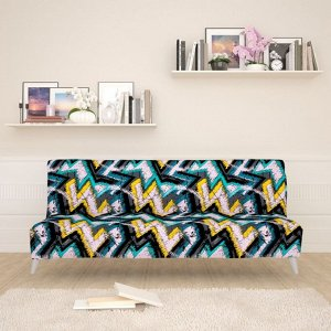 Чехол для дивана б/п Геометрический паттерн 4
