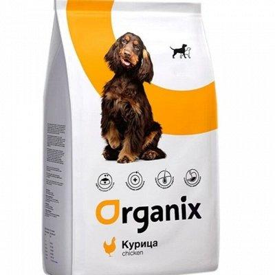 ✔Корма премиум класса д/кошек и собак + Витамины, био-добавки — ORGANIX. Корма для собак