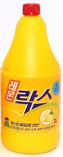 """Универсальное чистящее средство """"Сандо Рокс"""" (хлорное, аромат лимона) 2 л"""