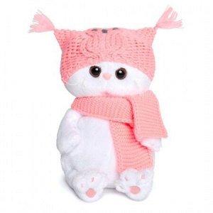 Ли Ли Бэби в шапке-сова и шарфе   мягкая игрушка