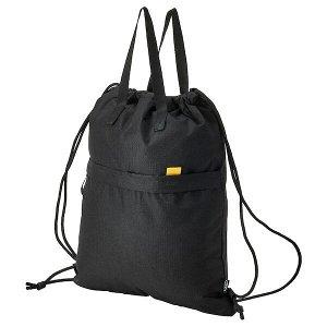 VÄRLDENS ВЭРЛДЕНС Спортивная сумка, черный38x49 см/15 л