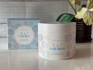 Крем массажный осветляющий Enough Collagen Whitening Premium Cleansing & Massage Cream
